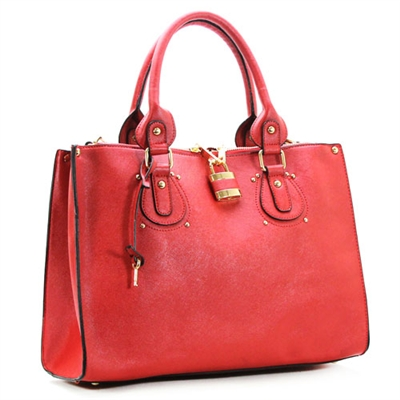 Natalie Shoulder Tote in Vibrant Rose. Courtesy of robertmatthew.com