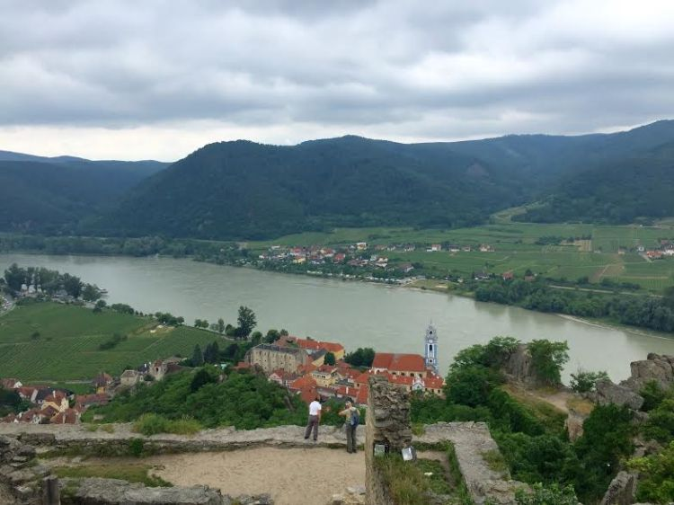 Durnstein and the Danube